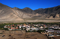Panorama of Samye Monastery