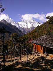 Meili Snow Mt. View in Yubeng