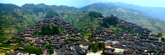 Xijiang Miao Village, Guizhou,China